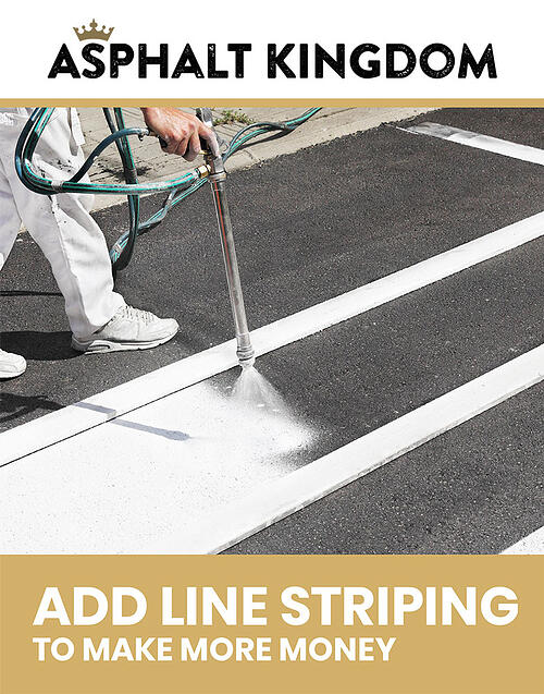 Add Line Striping to your business and make more money!