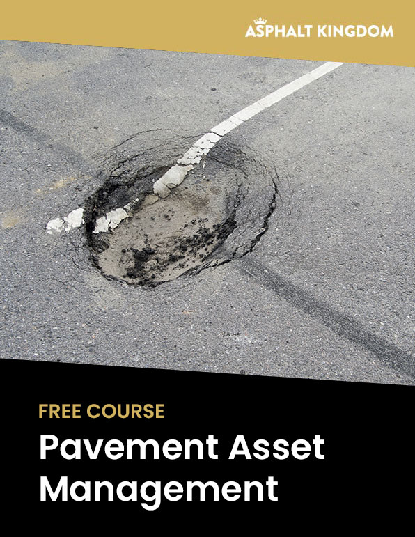 Free Pavement Asset Management Course