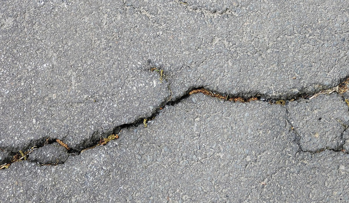 Crack Repair and Pothole Patching