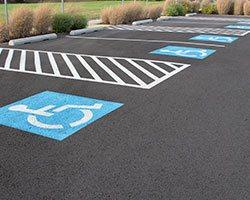 Parking Lot Lines and Paint Colors