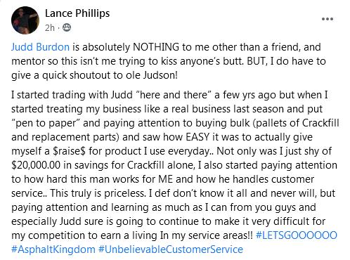 Lance Phillips Asphalt Kingdom Review