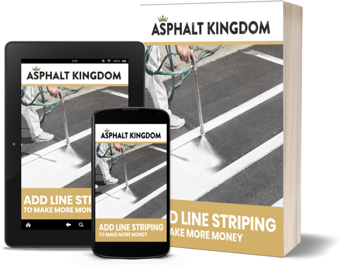 Add Line Striping To Your Asphalt Business