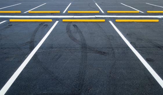 Parking Lot of LineStriping