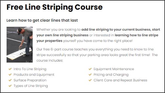 Line Striping Machine