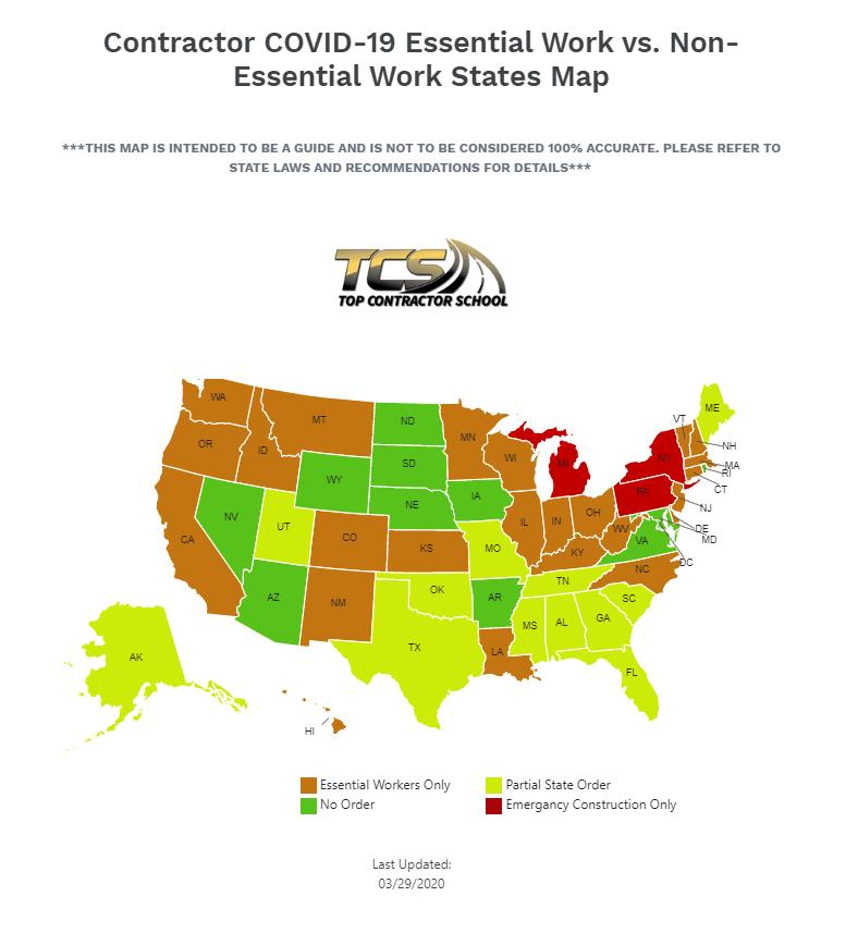 Contractor Map